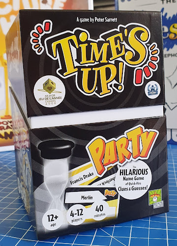 Time's Up Party Game Review Age 12+ Sent by Asmodee