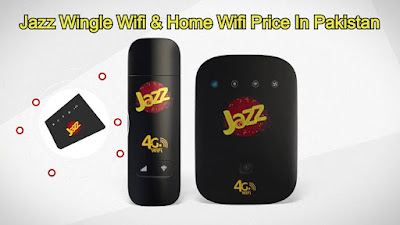 Jazz Wingle Wifi & Home Wifi Price In Pakistan