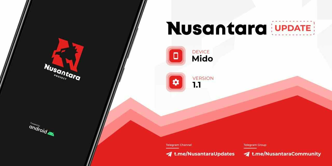 Nusantara Project 1.1 EOL for Redmi Note 4 | Mido