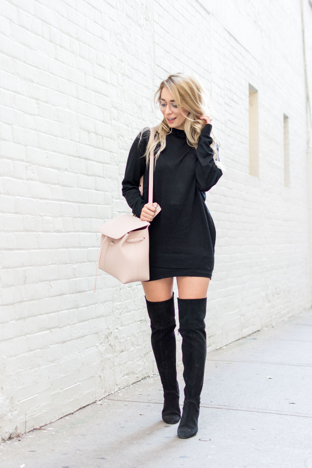 OOTD - Over The Knee Boots | La Petite Noob | A Toronto-Based Fashion and Lifestyle Blog.