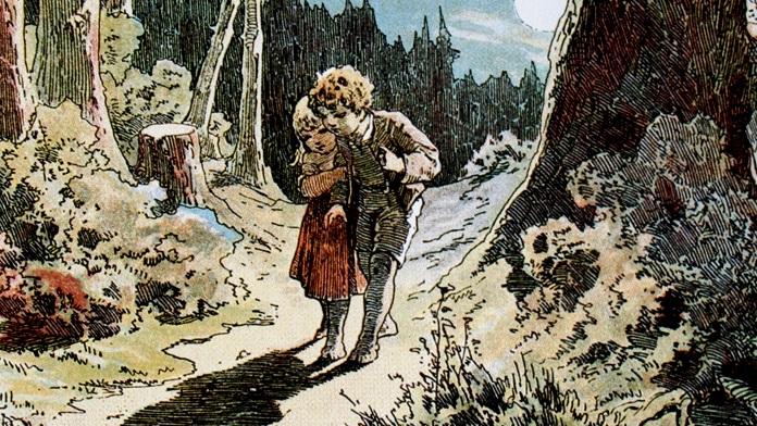 Breve storia di Hansel e Gretel - Fratelli Grimm