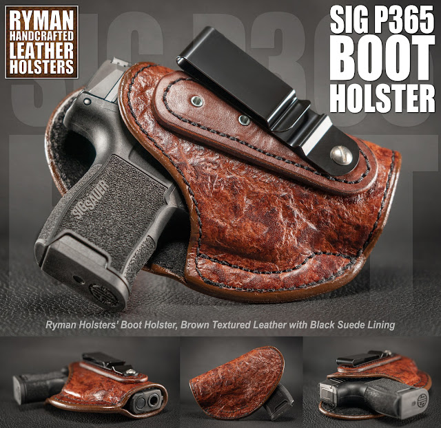custom leather holster for sig P365
