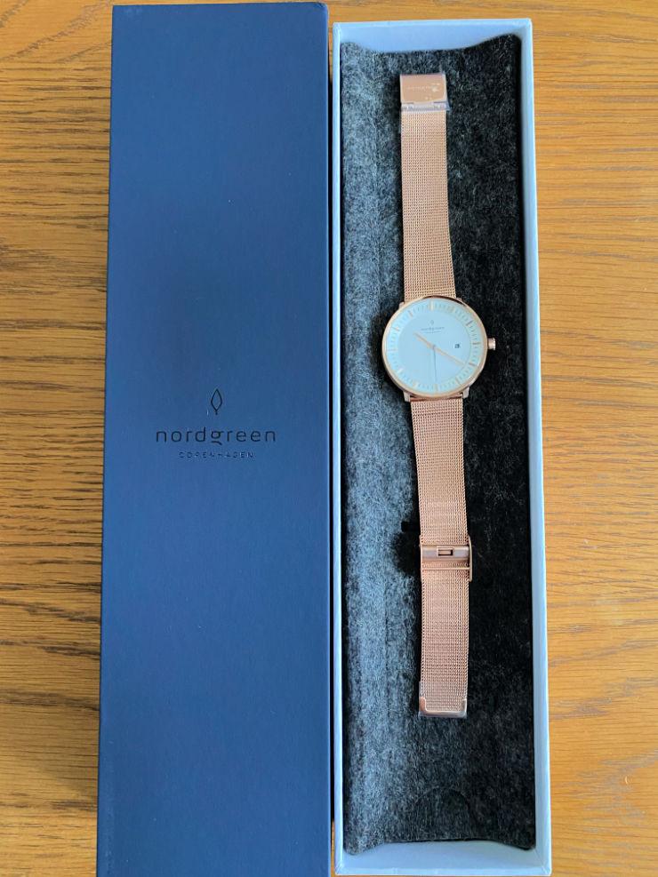 Nordgreen Infinity watch open box