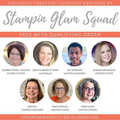 Stampin Glam Squad Design Team. Earn Exclusive Creative Tutorials from Mitosu Crafts