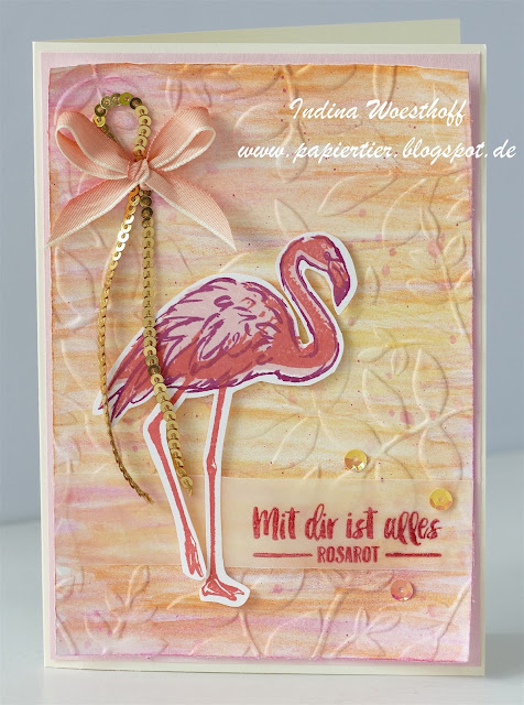 Flamingo Fantasie | Stampin' Up! | papiertier Indina | Fabulous Flamingo