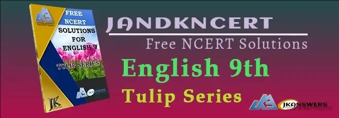 Book Cover Class 9th English Tulip Series