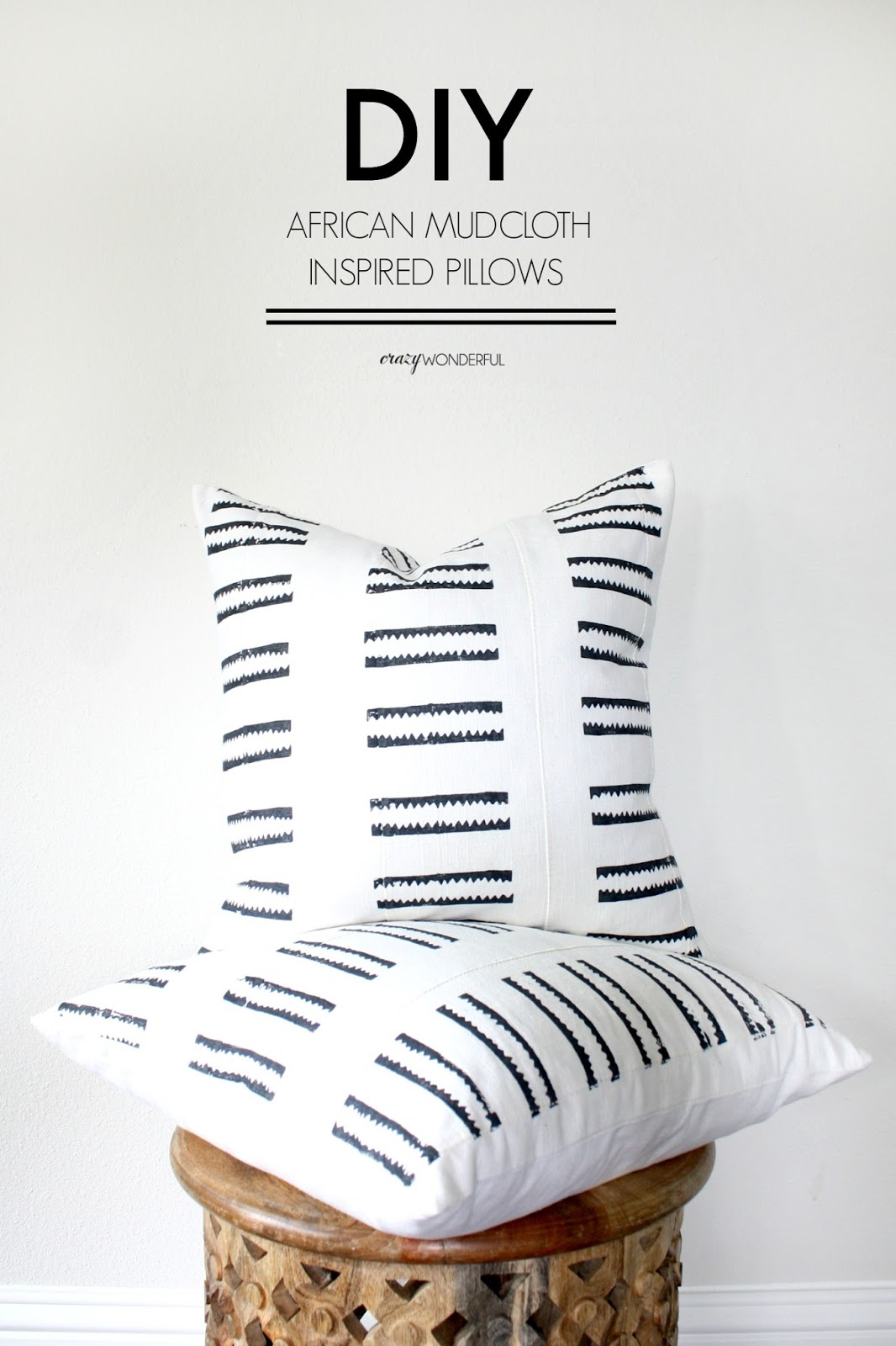 Mudcloth Lumbar Pillow