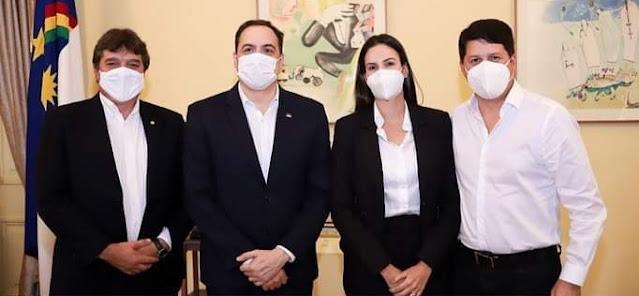 Dayse Juliana se reúne com o governador Paulo Câmara em busca de investimentos para Primavera