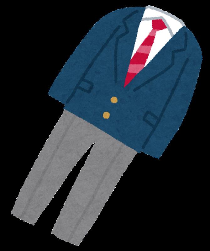 学生服のイラスト 男子ブレザー かわいいフリー素材集 いらすとや