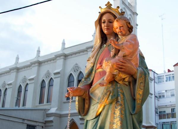 En Valladolid si habrá procesión del Rosario