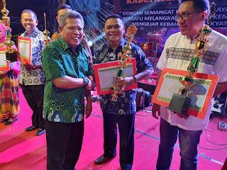 Meriahkan HUT Kubu Raya ke-12, Persit Kodim 1207/BS Sabet Juara