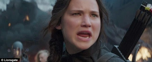 hunger games, mockingjay part 1 video trailer