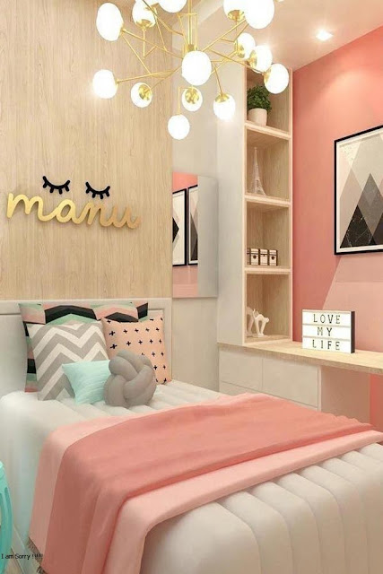 Bedroom Minimalist Ideas Pink Color