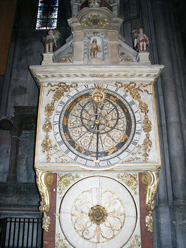 Orologio astronomico Cattedrale di Lione
