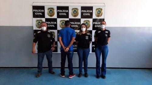 Um Homem desrespeita medida protetiva e é preso, em Goiás