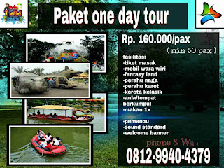 paket one day tour 2020