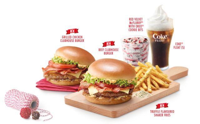 mcdonalds menu singapore