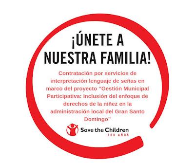 Experto en Lenguaje de Señas para Save the Children RD