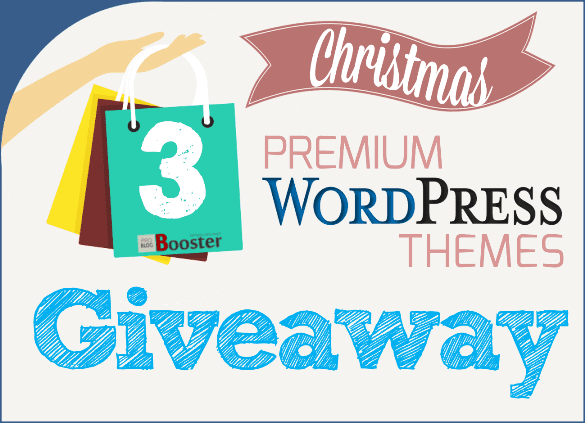 Giveaway Free Premium WordPress Themes Christmas Gift