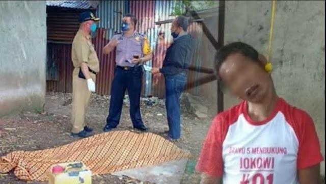 Geger! Warga Mengenakan Kaos 'Pendukung Jokowi' Ditemukan Tewas Gantung Diri