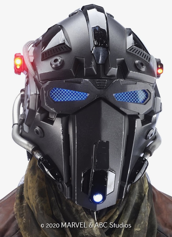 Marvel Agents of SHIELD Deke Shaw helmet