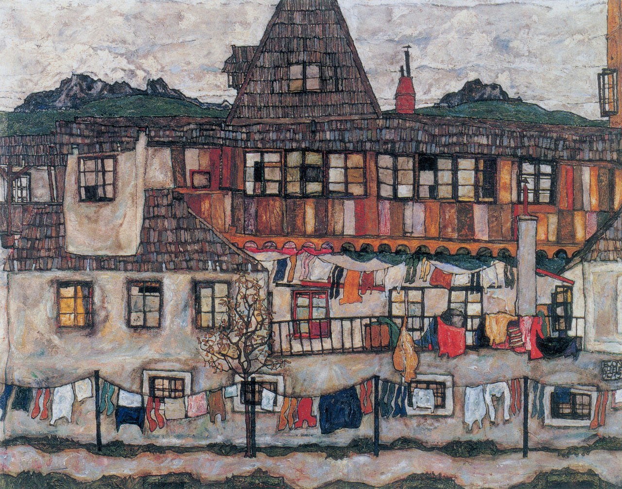 We Eat Happy Egon Schiele Landscapes