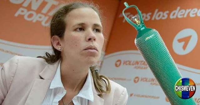 Diputada Manuela Bolívar asegura que el oxígeno se está acabando en todos los hospitales