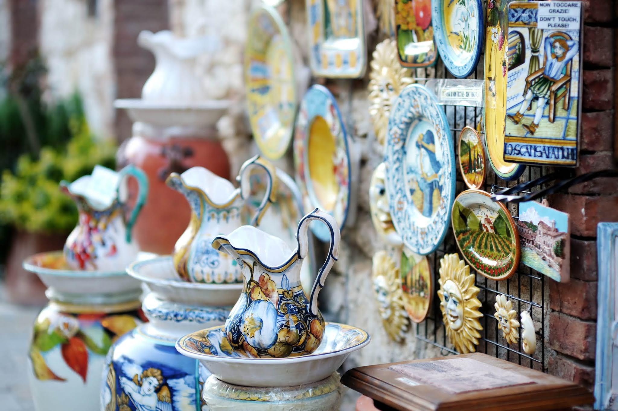 Керамика Виетри-суль-Маре на Побережье Амальфи