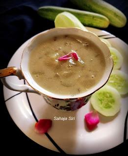 Mullu southe Payasa/ Vegan Southekai Kheer