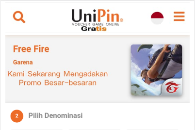 Script Phising Free Fire Versi Unipin