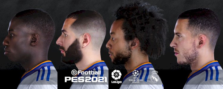 PES 2021 Real Madrid   Free Facepack by Yeshua Facemaker