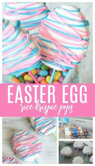 Easter Rice Krispie Treats Recipe