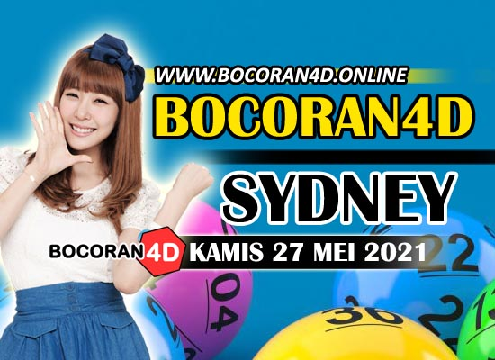 Bocoran Togel 4D Sydney 27 Mei 2021