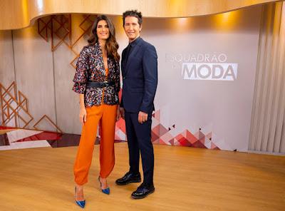 Isabella Fiorentino e Arlindo Grund - (Foto: Gabriel Cardoso/SBT)