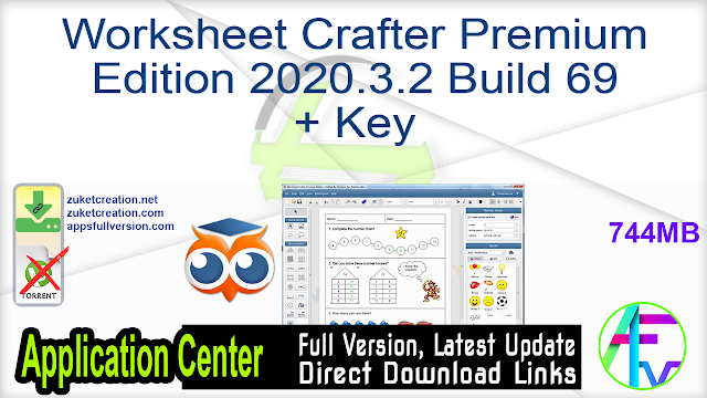 Worksheet Crafter Premium Edition 2020.3.2 Build 69 + Key