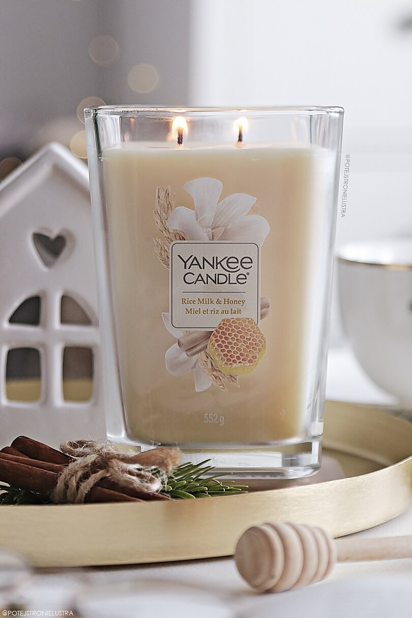 yankee candle rice milk and honey nowy zapach na wiosnę 2020