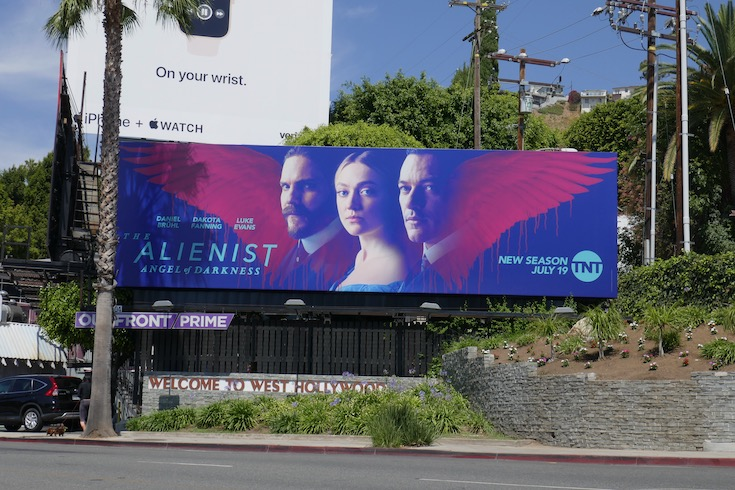 Alienist Angel of Darkness launch billboard