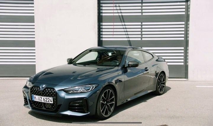 BMW ra mắt 4-Series Coupe 2021 hoàn toàn mới - lưới tản nhiệt khổng lồ