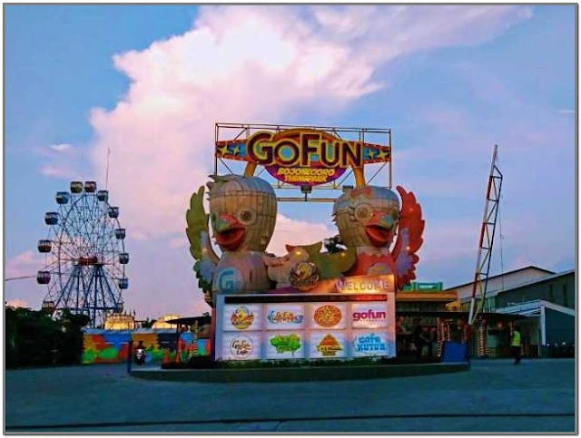 Go Fun Theme Park;10 Top Destinasi Wisata Bojonegoro;