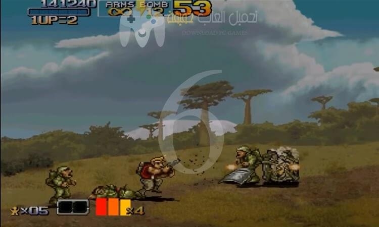 تحميل جميع اجزاء لعبة حرب الخليج Metal slug