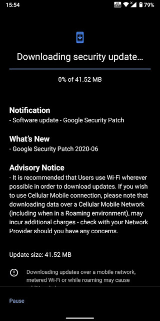 Nokia 7 Plus receiving June 2020 Android Security patch