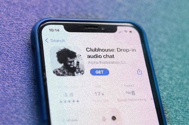 clubhouse app logo تحميل كلوب هاوس للاندرويد