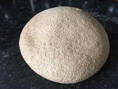 A well risen dough prior to baking