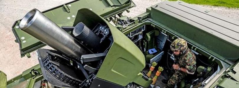 Швейцарська армія отримає самохідний 120-мм міномет