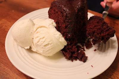 The BEST EVER Chocolate Bundt Cake and Chocolate Icing! Our family favorite recipe!