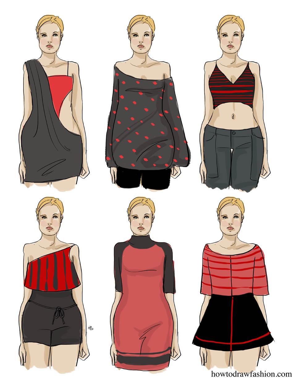 How To Draw Fashion Fashion Collection Ladybug