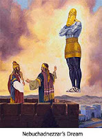 The dream image of Nebuchadnezzar