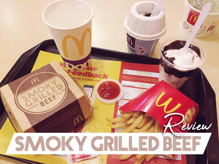 McDonald's Smoky Grilled Beef