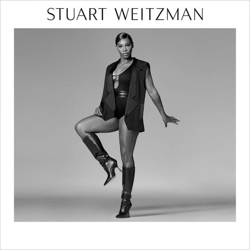 Serena Williams Clicked for Stuart Weitzman Fall 2020 Campaign