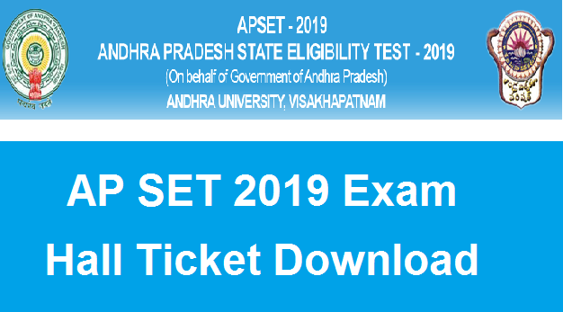 Manabadi AP SET Hall Ticket 2019 Download